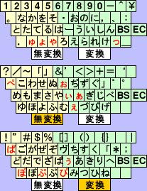 小梅1.21文字配列